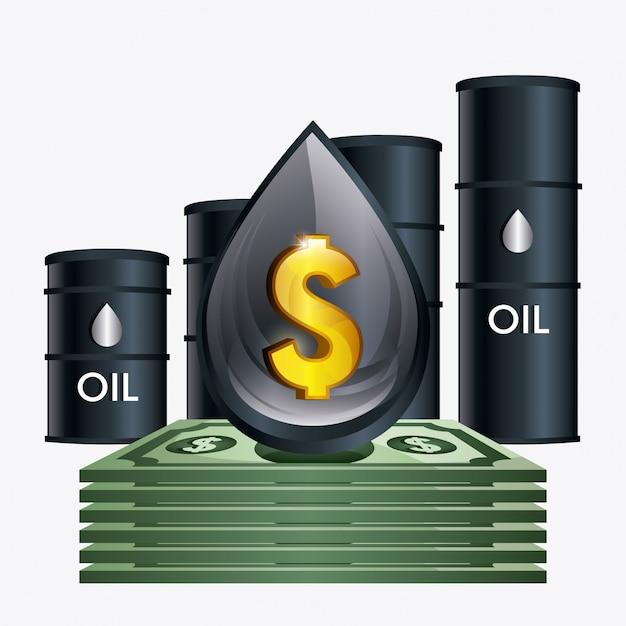 Prix du pétrole Vecteur gratuit