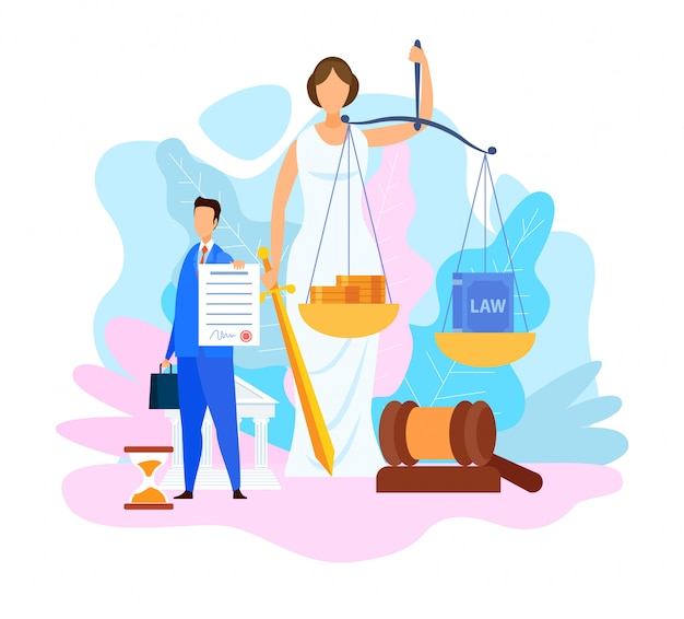 Programme De Doctorat En Droit Vecteur Premium