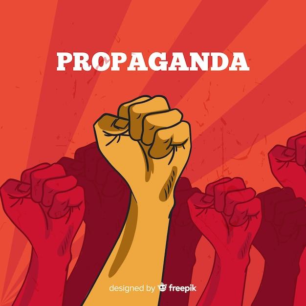 La propagande Vecteur gratuit