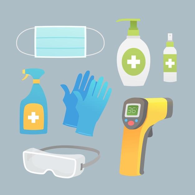Protection De L'équipement Antivirus Vecteur gratuit