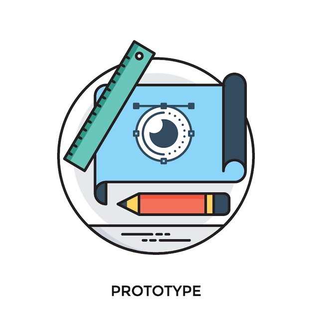 Prototype Vecteur Premium