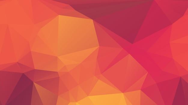 Purple, Jaune Et Rose Soft Polygon Background Design Vecteur Premium