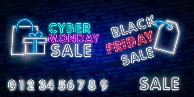 Rabais de vente black friday Vecteur Premium