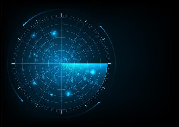 Radar Vecteur Premium