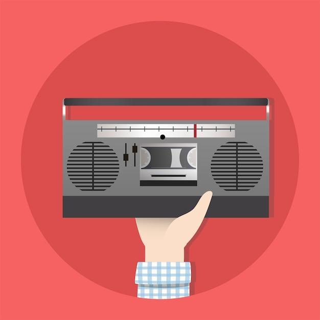 Radio Vecteur gratuit