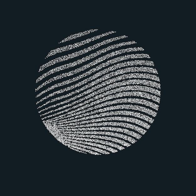 Raster D'impression Monochrome. Fond Abstrait Vectoriel. Texture Noir Et Blanc De Points. Vecteur Premium
