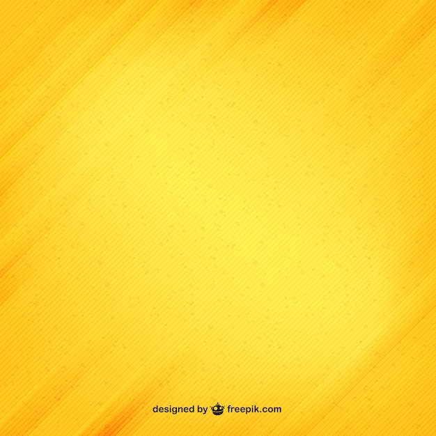 Rayures jaunes texture Vecteur gratuit