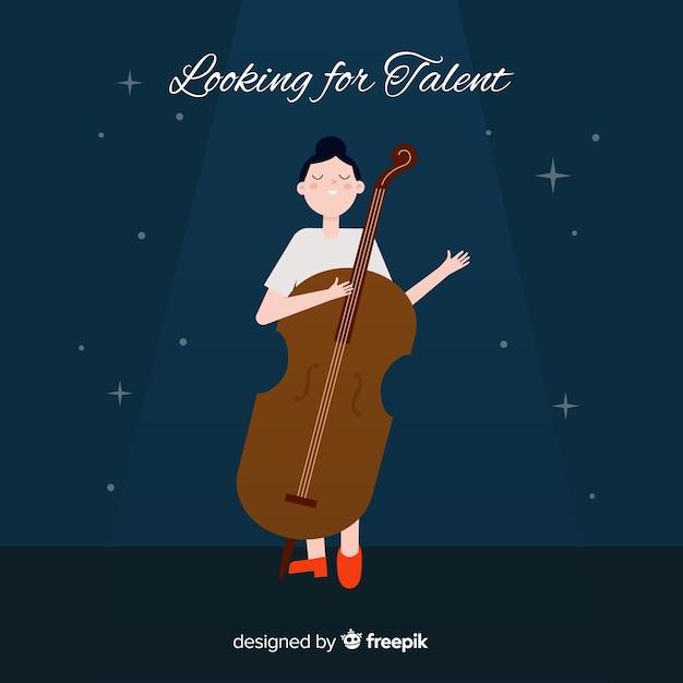 À La Recherche De Talent Vecteur gratuit