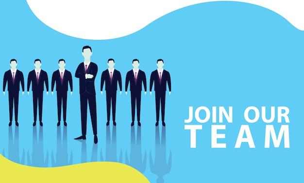 Rejoins notre équipe Vecteur Premium