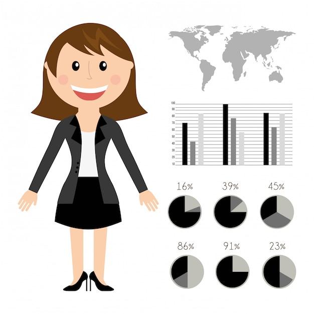 Ressources humaines sur l'illustration vectorielle fond blanc Vecteur Premium