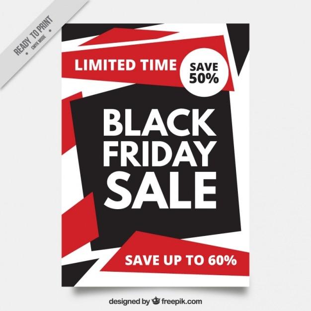 r sum brochure des offres black friday t l charger des vecteurs gratuitement. Black Bedroom Furniture Sets. Home Design Ideas