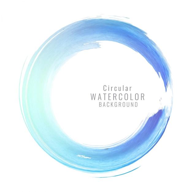 r u00e9sum u00e9 circulaire bleu fond d u0026 39 aquarelle