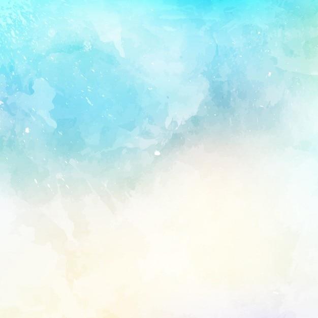 Résumé de fond avec une texture d'aquarelle Vecteur gratuit