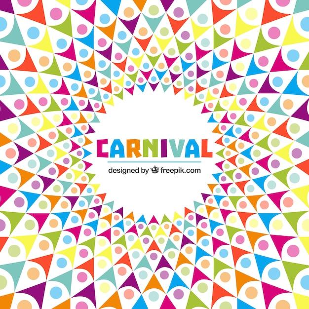 r u00e9sum u00e9 de fond de carnaval dans le style color u00e9