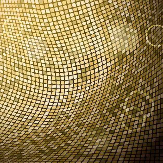 R sum de fond mosa que dor e t l charger des vecteurs gratuitement - Mosaique doree ...