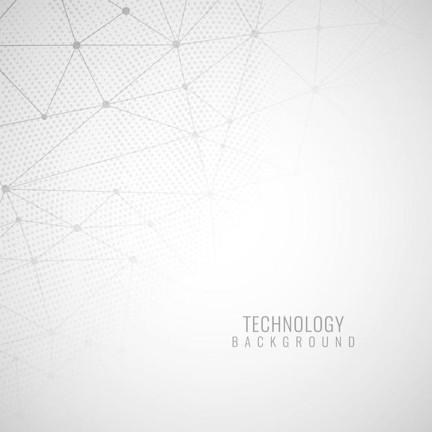 Résumé de la technologie moderne Vecteur gratuit