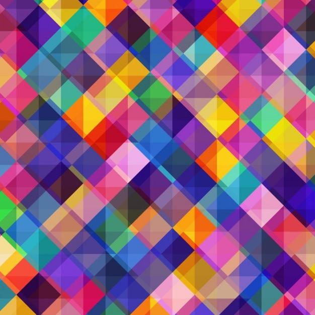 Résumé de fond coloré 3d Vecteur gratuit