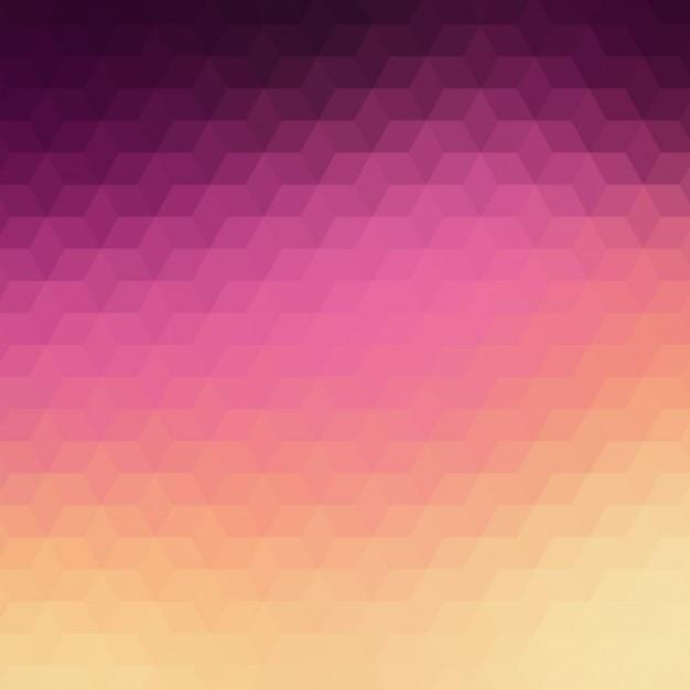 Résumé de fond dans les tons violet et rose Vecteur gratuit