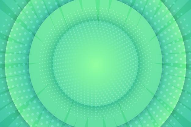 Résumé Fond Demi-teinte Circulaire Vert Vecteur gratuit