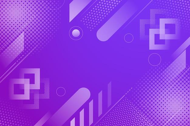 Résumé Fond Demi-teinte Lignes Violettes Vecteur gratuit
