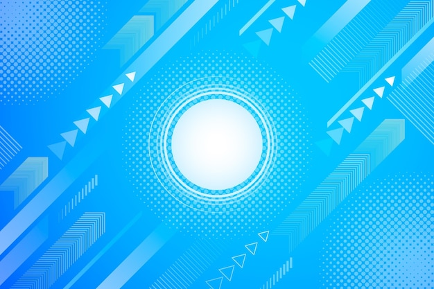 Résumé Fond Demi-teinte Point Lumineux Vecteur gratuit