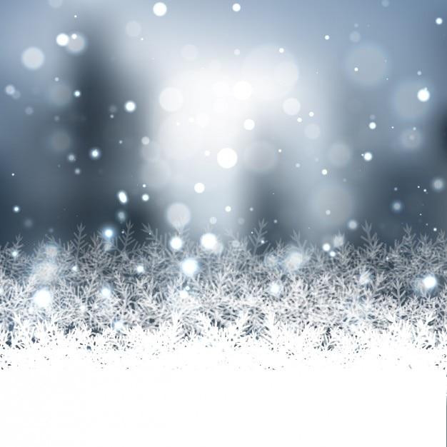 r u00e9sum u00e9 de fond avec des flocons de neige
