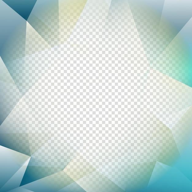 Résumé Fond Polygon Transparent Transparent Vecteur gratuit