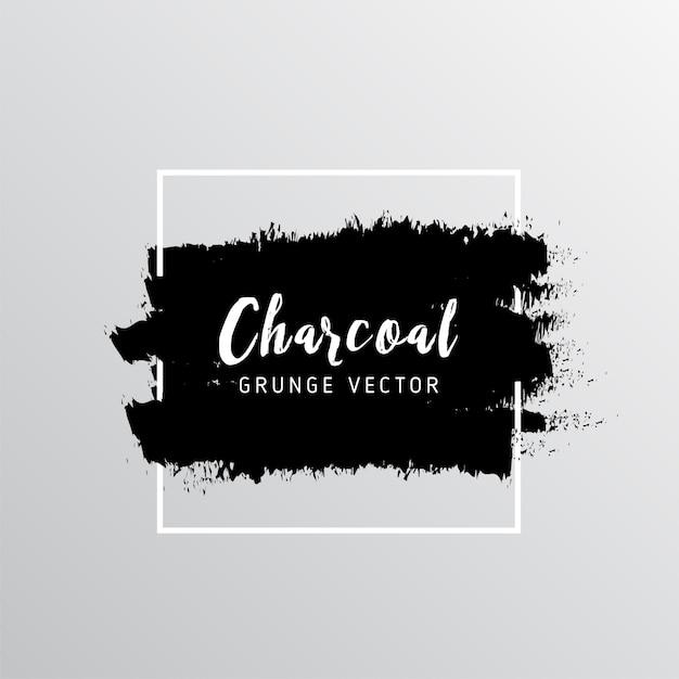Résumé Fond De Texture Du Charbon De Bois Vecteur gratuit