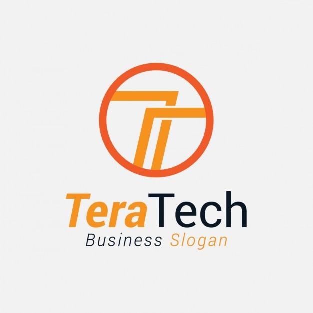 Résumé Lettre T Logo Vecteur gratuit