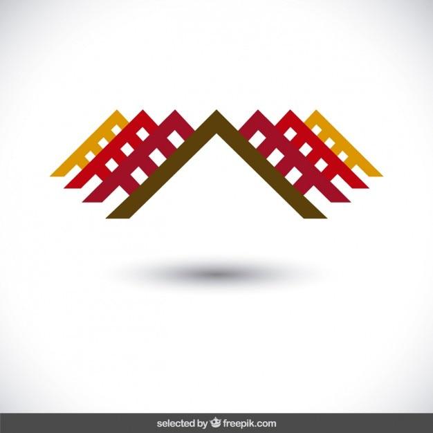 Résumé logo de la propriété Vecteur gratuit