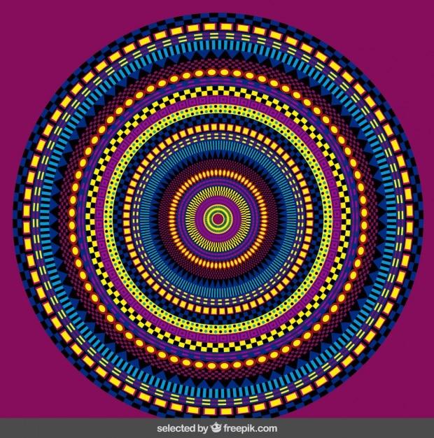 r u00e9sum u00e9 mandala color u00e9