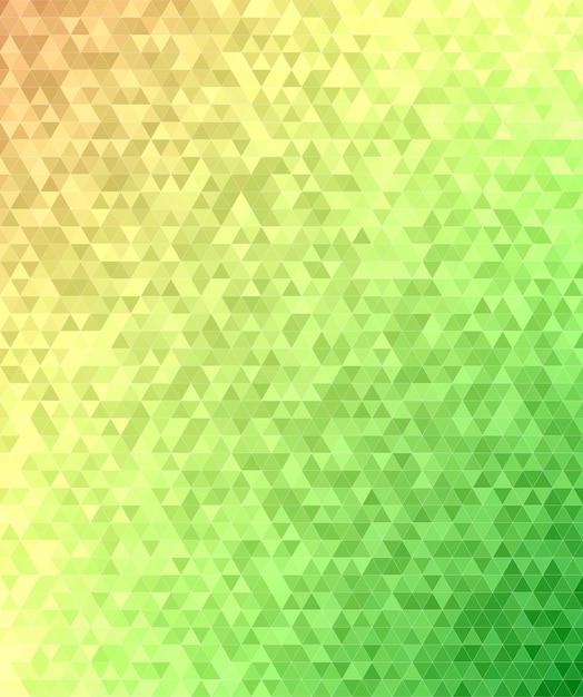 Résumé de la mosaïque du triangle mosaïque Vecteur gratuit