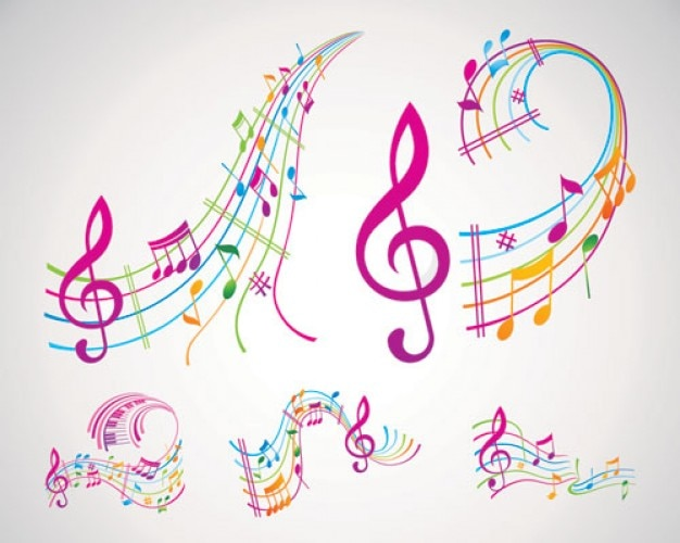 Résumé pack vecteur musical Vecteur gratuit