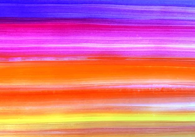 Résumé Peint En Texture De Bandes Multicolores Vecteur gratuit