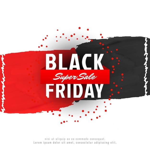Résumé de la publicité de vente vendredi noir Vecteur gratuit