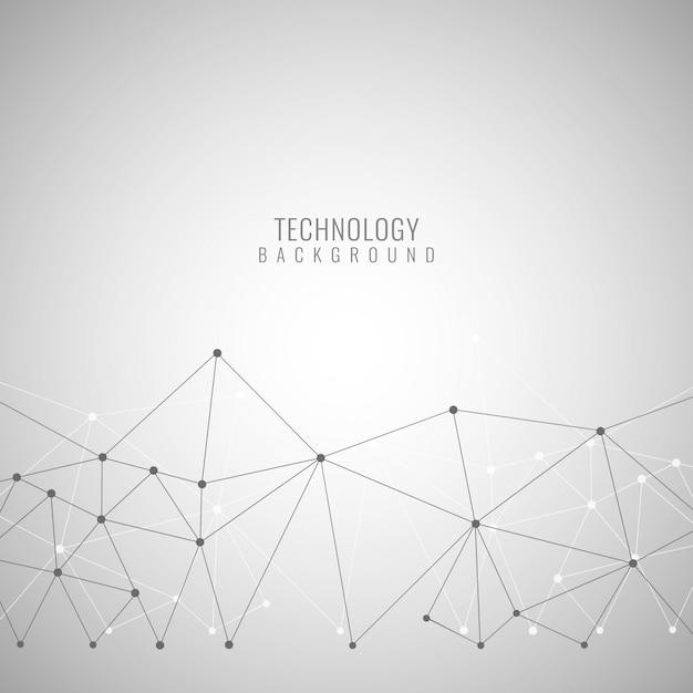 Résumé Technologie Design élégant De Fond