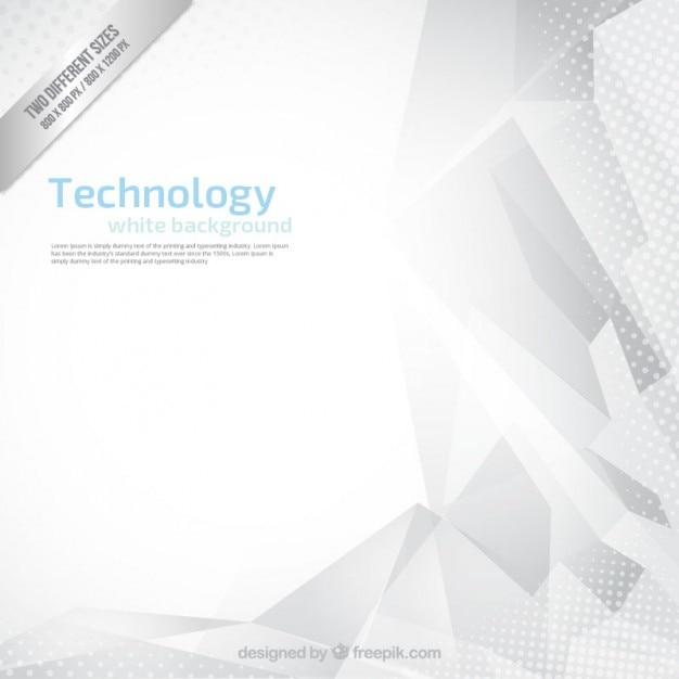 Résumé Tecnology Fond Blanc