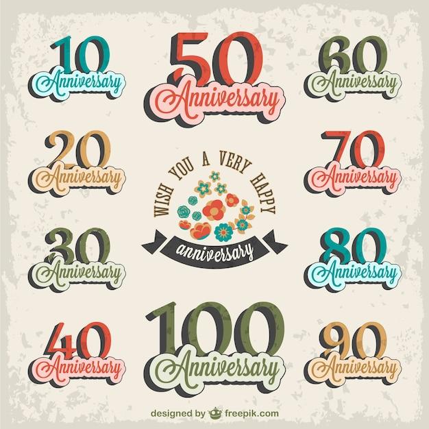 logo gratuit anniversaire