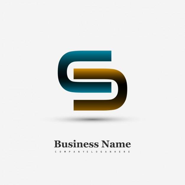 S symbole logo Vecteur gratuit