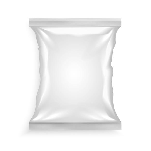 Sac En Plastique Blanc Vecteur gratuit
