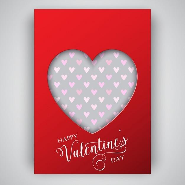 Saint valentin conception du d pliant avec le coeur de d coupe t l charger des vecteurs - Telecharger coup de coeur ...