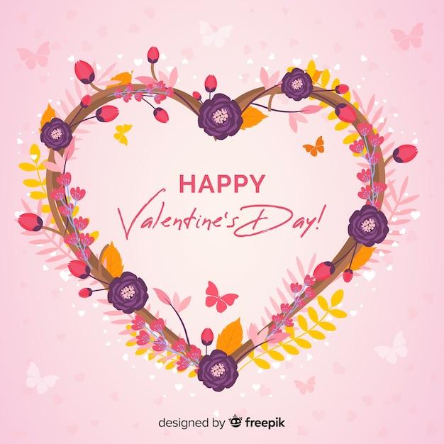 La Saint Valentin Vecteur gratuit