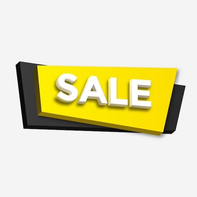 Sale banner design Vecteur gratuit