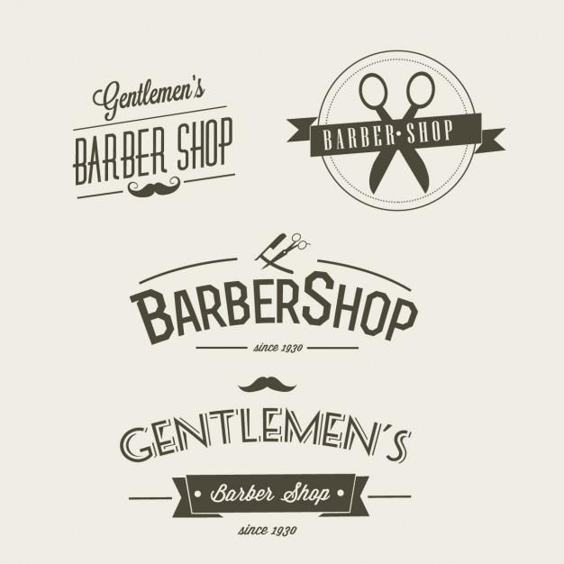 Salon de coiffure Vecteur gratuit