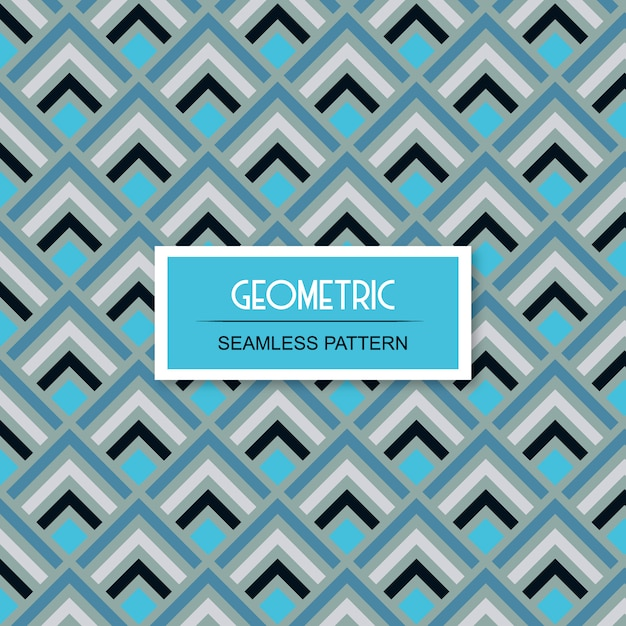 Seamless pattern géométrique sans soudure Vecteur Premium