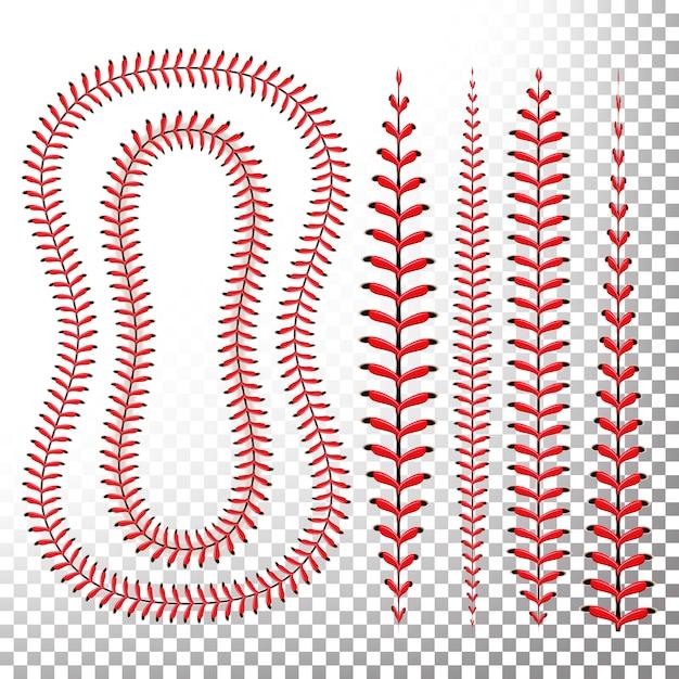 Set De Points De Baseball Vecteur Premium