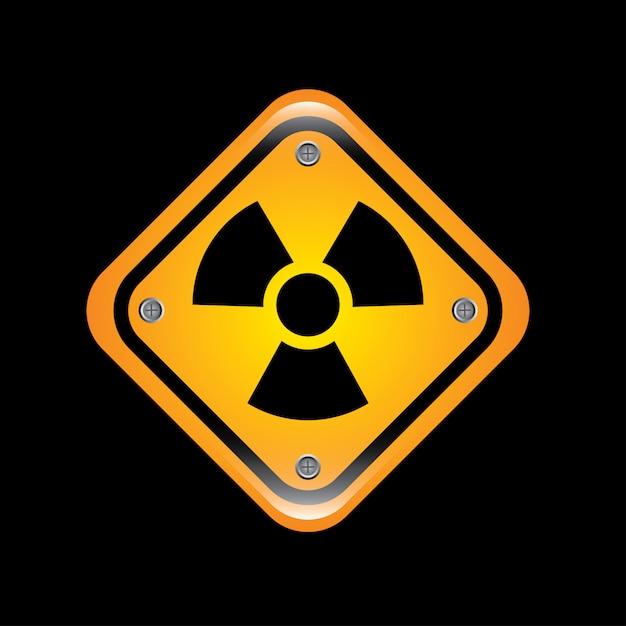 Signes atomiques Vecteur Premium