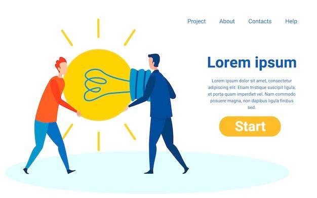 Site web conçu pour recueillir des commentaires, des critiques Vecteur Premium