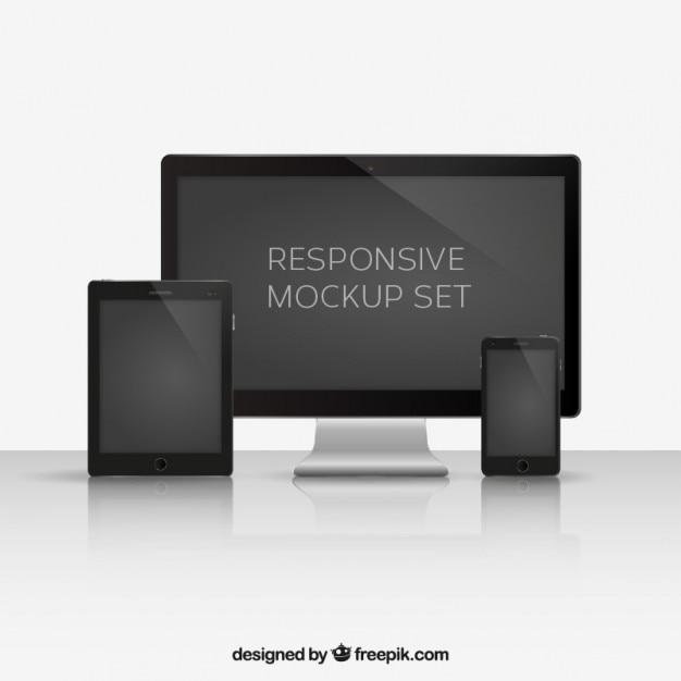 smartphone tablette et ordinateur t l charger des vecteurs gratuitement. Black Bedroom Furniture Sets. Home Design Ideas