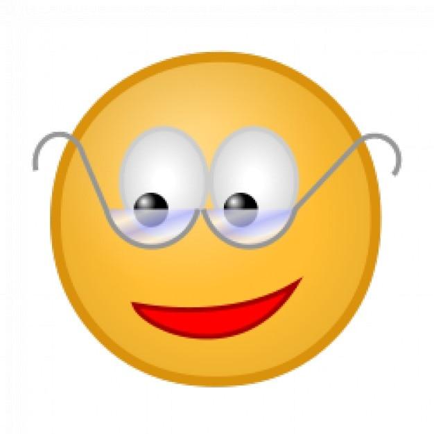 Smiley avec des lunettes t l charger des vecteurs - Image smiley gratuit ...